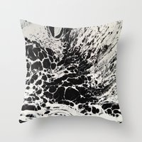 ghost Throw Pillows featuring Ghost by blair__berger