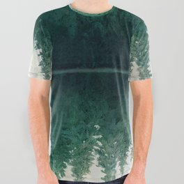 Reflection All Over Graphic Tee
