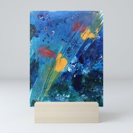 Views of Rainbow Coral, Tiny World Collection Mini Art Print