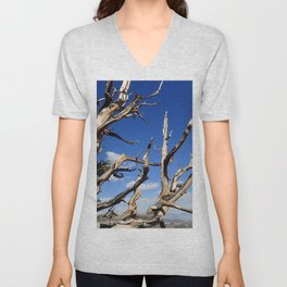 Trees of ancient times Unisex V-Neck