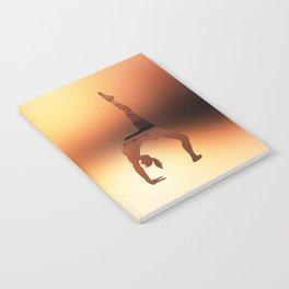 Yoga - One Legged Wheel Pose Notebook