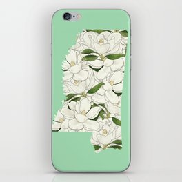 Mississippi in Flowers iPhone Skin