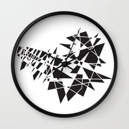 Guitar Quake Wall Clock