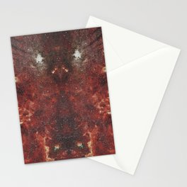 Mirrored Galaxy Stationery Cards