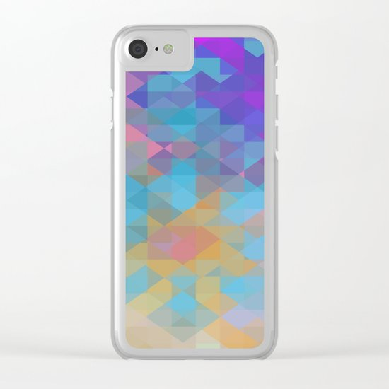 Expansion Clear iPhone Case