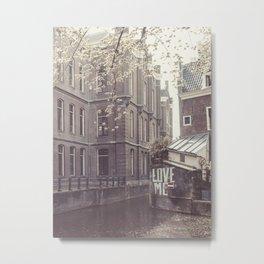 Love Me Amsterdam Metal Print