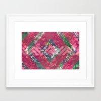 beth hoeckel Framed Art Prints featuring beth by littlehomesteadco