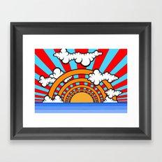 Sunray One Framed Art Print