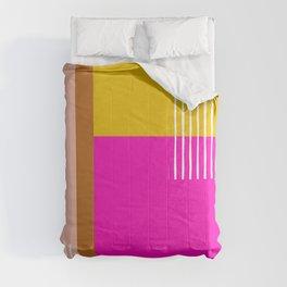 Colorblock Sunrise Comforters