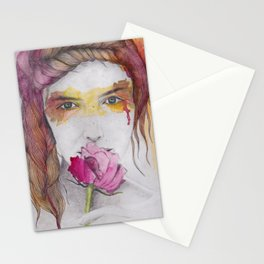 You will discover me, through the art Stationery Cards