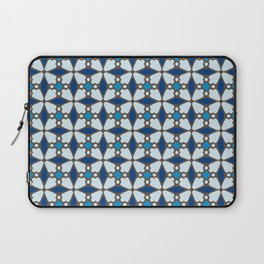 Blue Stained Glass Laptop Sleeve