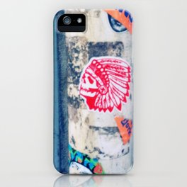 IndiSkull iPhone Case