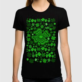 Lucky 4 Leaf Clover T-shirt