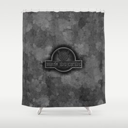 "Vaca - MP: ""Mundo das Cordas"" Shower Curtain"