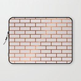 Copper Subway Tiles Laptop Sleeve