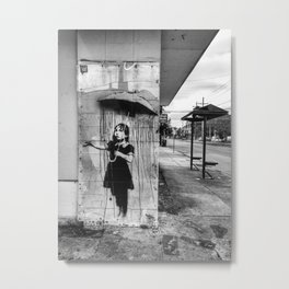 Banksy Metal Print