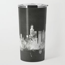 Chicago Illinois Skyline Travel Mug