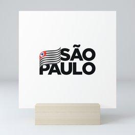 São Paulo, Brazil Mini Art Print