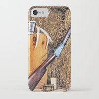winchester iPhone & iPod Cases featuring Winchester Rifle by Captive Images Photography