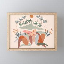 Summer daze Framed Mini Art Print