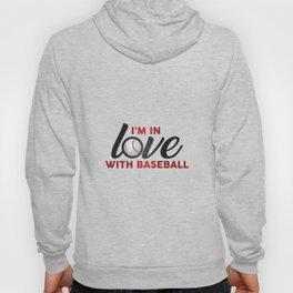 I'm in LOVE with Baseball Hoody