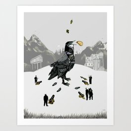 The Capture of the Bird King Art Print