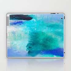 Abstract in Blues Laptop & iPad Skin