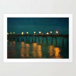 Deal After Sunset 2 Art Print