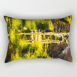Drowning in seaweed Rectangular Pillow