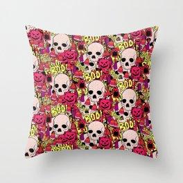 Halloween pattern 2 Throw Pillow
