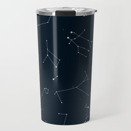 Silver Constellations Travel Mug