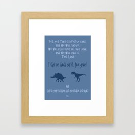 curse you and your sudden but inevitable betrayal, firefly serenity Framed Art Print