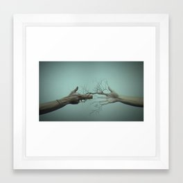 Rock War Peace Framed Art Print