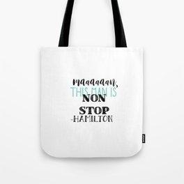 Non Stop | Hamilton Tote Bag