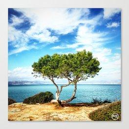 Tree view  Canvas Print