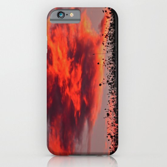 Sun Sets in the Field iPhone & iPod Case