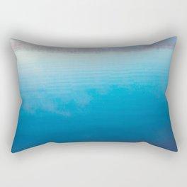 Autumn on the Lake x Rustic Decor Rectangular Pillow