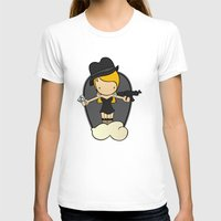 gangster T-shirts featuring Gangster Style by Jaqueline Teixeira