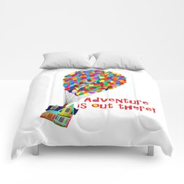 Up! Adventure is Out There! Comforters