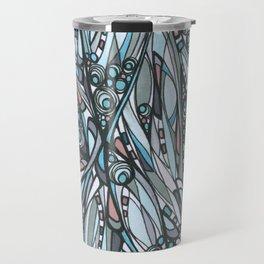 Cathedral Abstract Contemporary Art Travel Mug