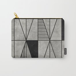Concrete Triangles Carry-All Pouch