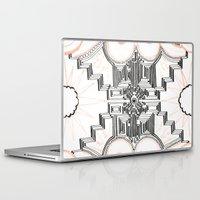 gatsby Laptop & iPad Skins featuring Gatsby Mandala by HRE.