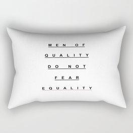 MEN OF QUALITY Rectangular Pillow