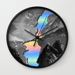 Finding the Silver Lining Wall Clock
