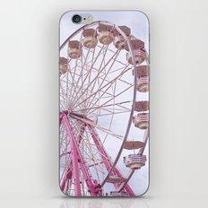Pink Ferris Wheel iPhone & iPod Skin