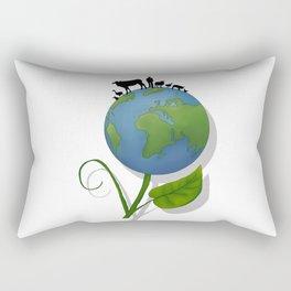 Vegan Universe Rectangular Pillow