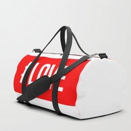 Hashtag Love Duffle Bag