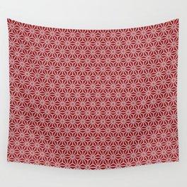 Japanese Yukata Jinbei Asanoha shinshu Wall Tapestry