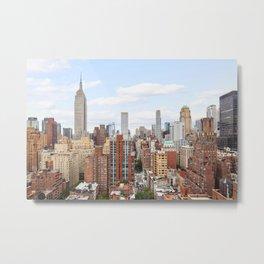 New York Color Vibes Metal Print