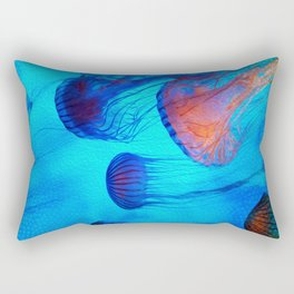 Watch the Flow of the Jelly Glow  Rectangular Pillow